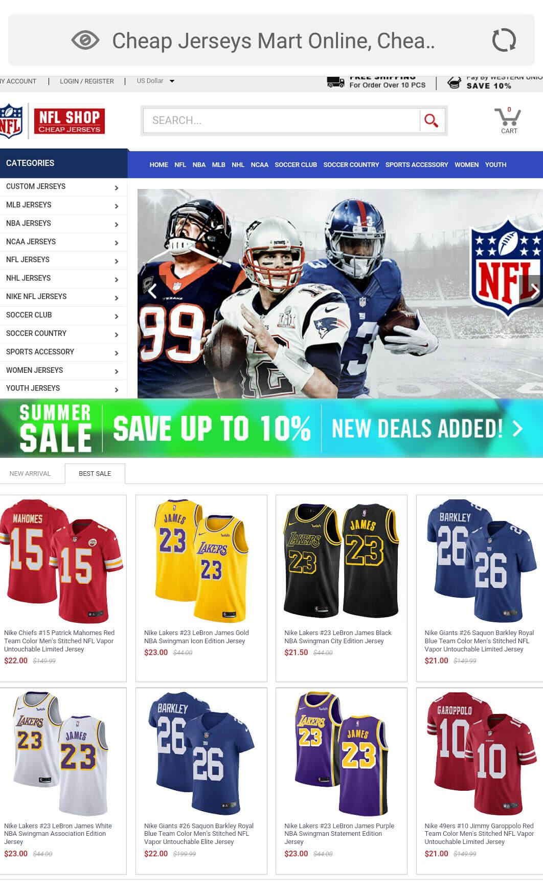 Cheap Jerseys Shop